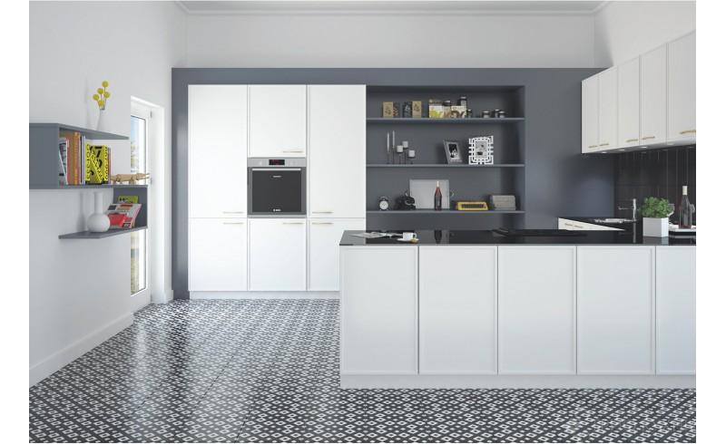 Кухня в новом модерновом дизайне Made in Itali  Аляска от Трио Кухни
