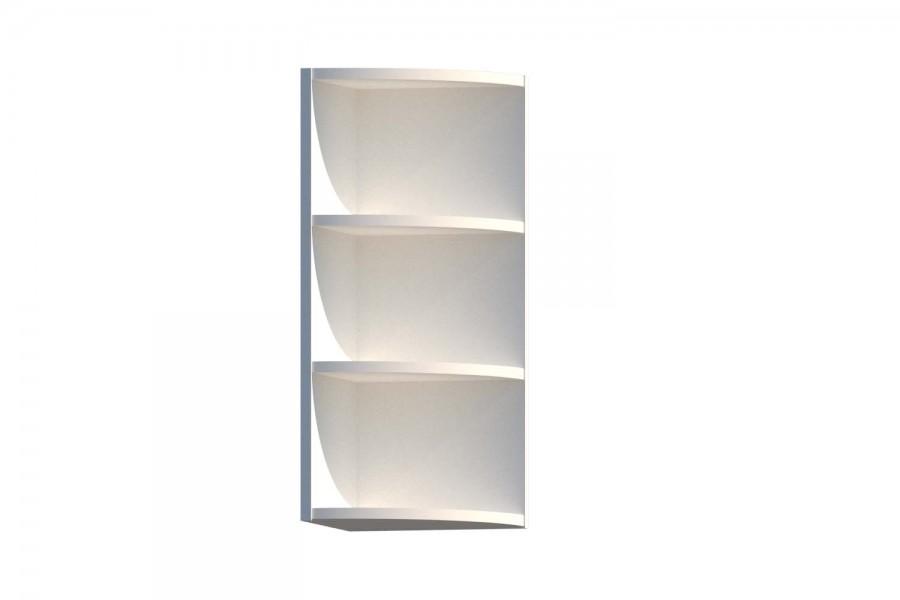 Шкаф верхний радиусный ШВR 300-720-300