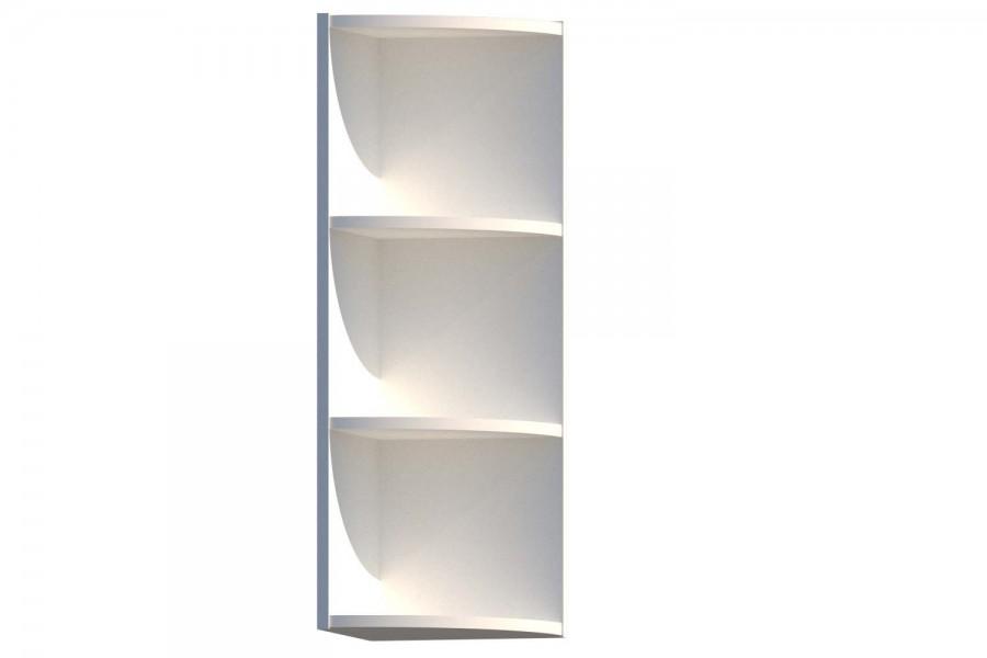 Шкаф верхний радиусный ШВR 300-920-300