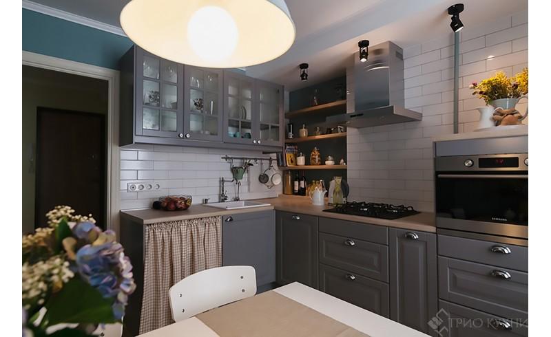 Модульная кухня Аврора, NEW 2018. Красивый дизайн в модной обработке.