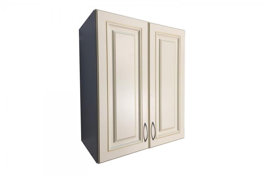 Шкаф верхний с сушкой 2 двери 600/720/320 Калифорния бежевая с патиной