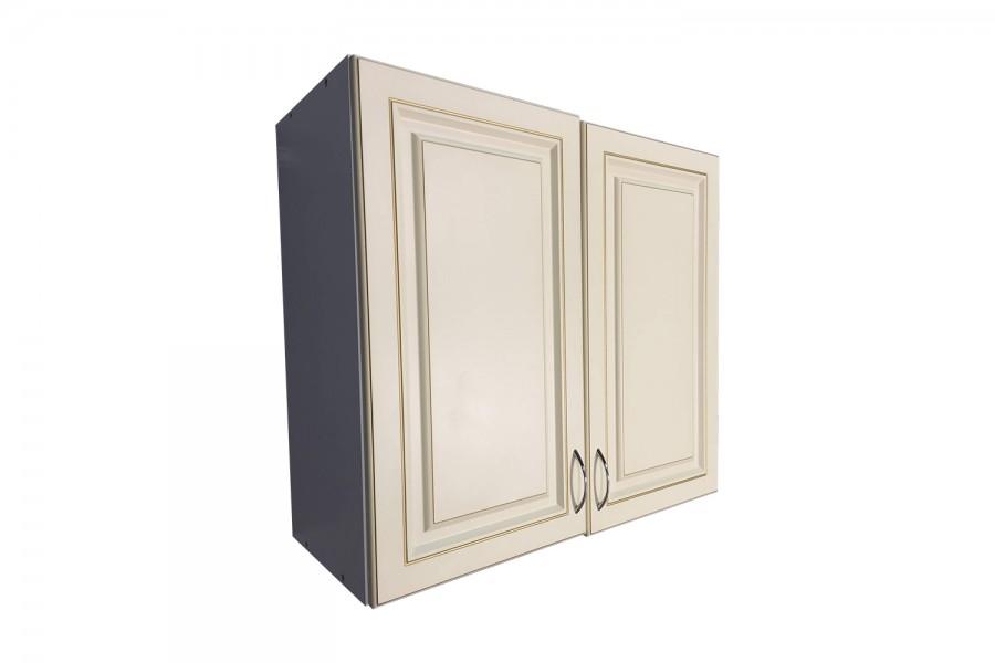 Шкаф верхний 2 двери 800/720/320 Калифорния бежевая с патиной