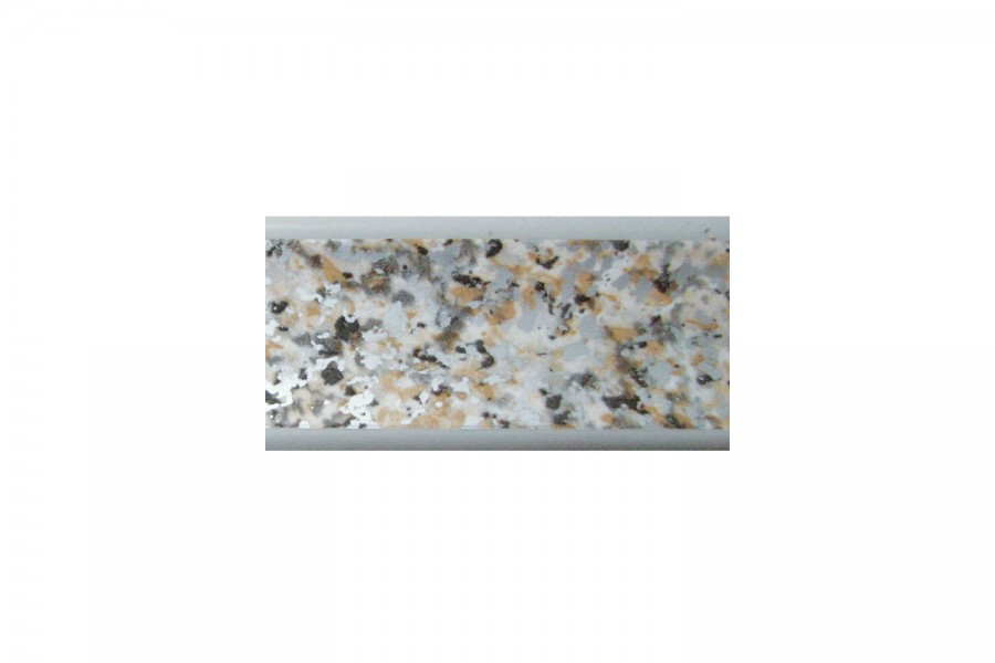 Плинтус кухонный Гранит серый  L-3000