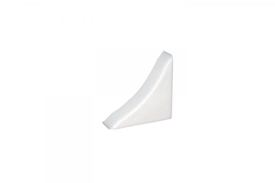 Заглушка плинтуса кухонного белая