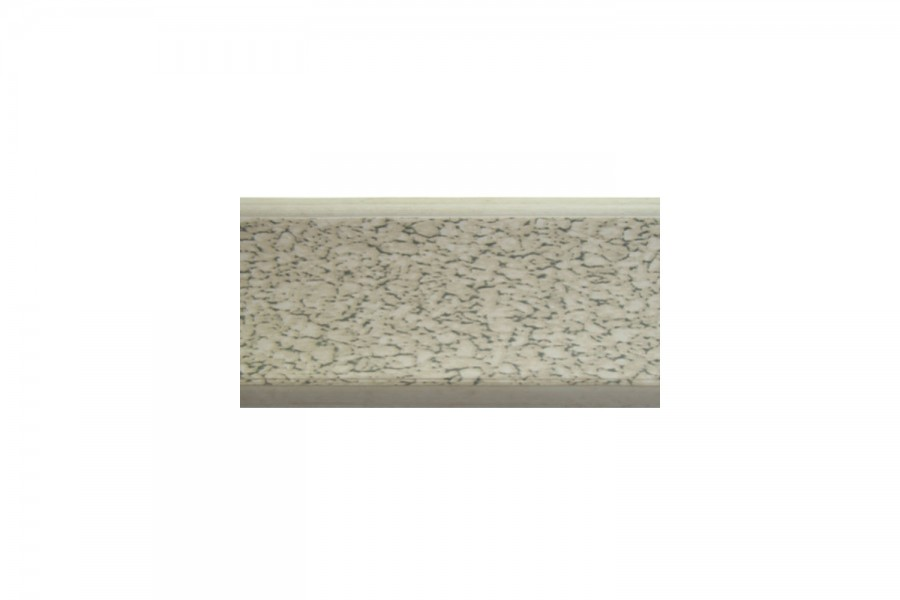 Плинтус кухонный песок белый  L-3000