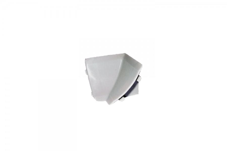 Внутренний угол плинтуса кухонного серый