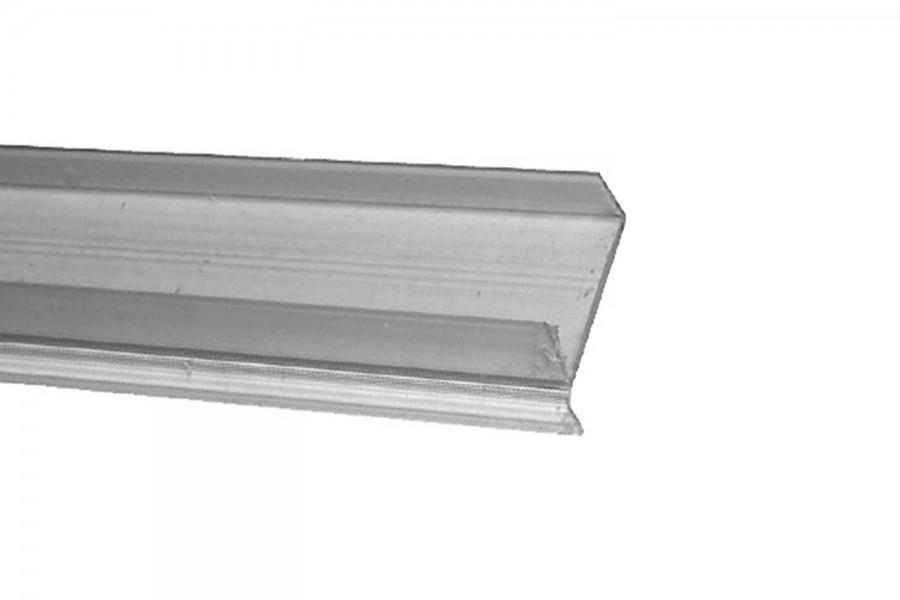 Профиль для защиты цоколя прозрачный 3000 мм