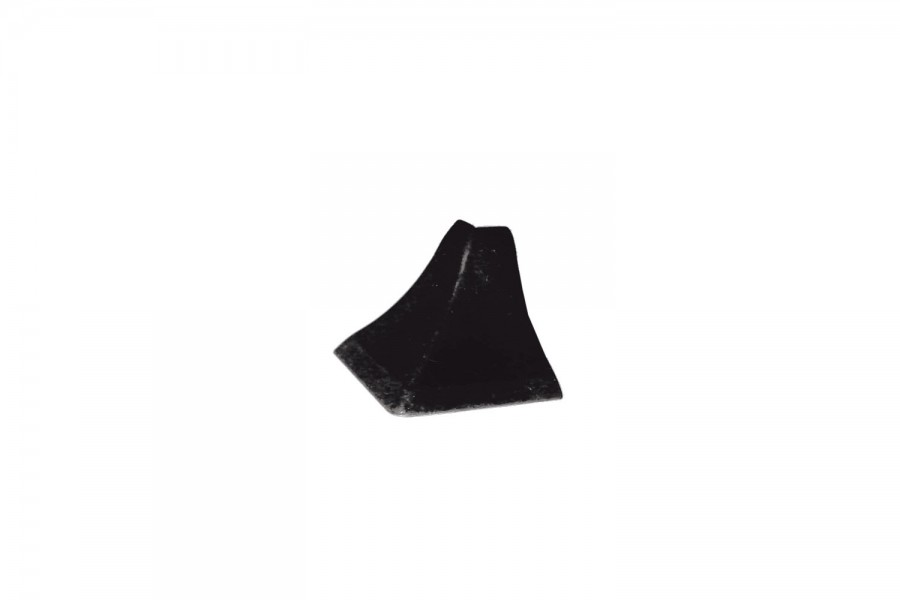 Наружный угол плинтуса кухонного чёрный