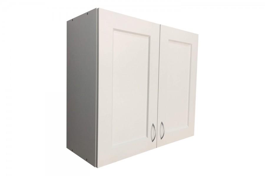 Шкаф верхний c cушкой 2 двери 800/720/320 Вирджиния белая