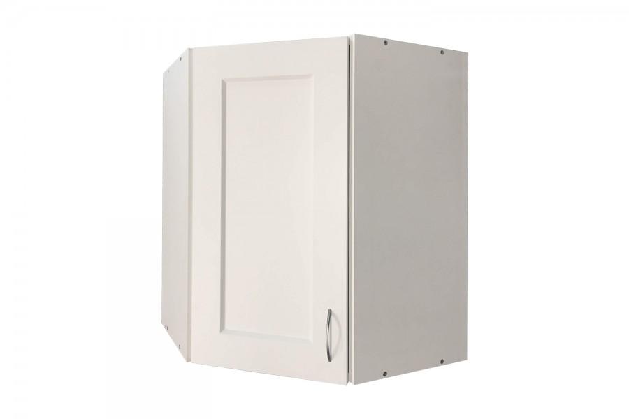 Шкаф верхний угловой 600/720/320 Вирджиния белая